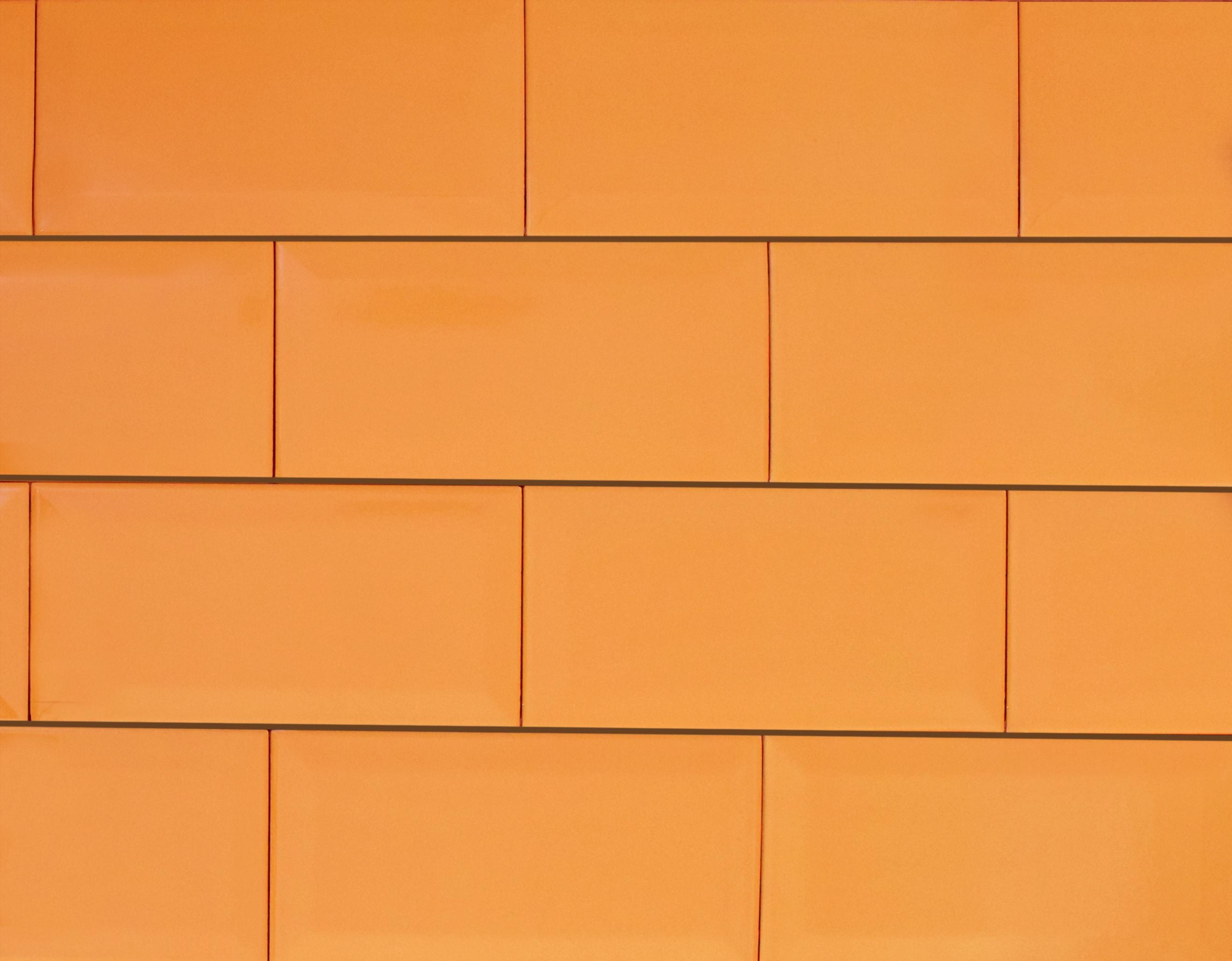 """4"""" x 8"""" / Glazed / Caramel Subway Tile / Metro Tile - Beveled 0"""
