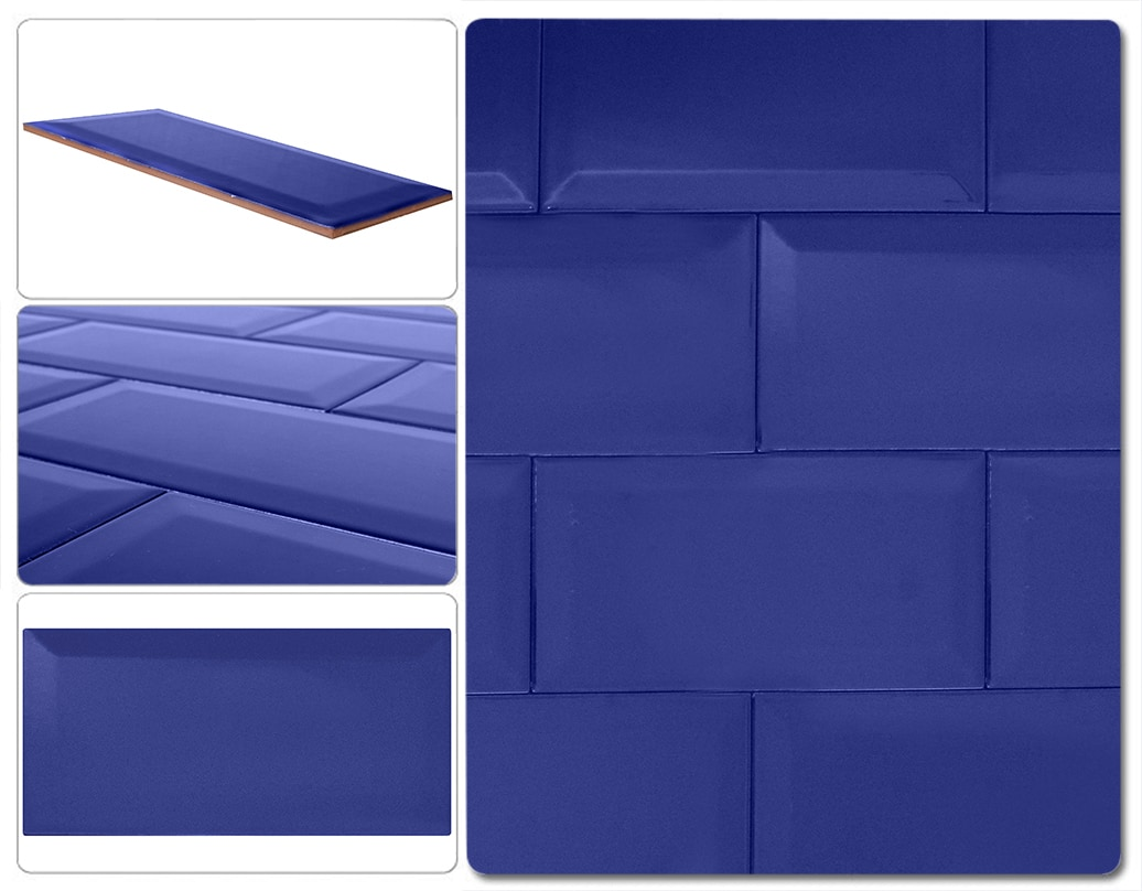 Ceramica Splendore Subway Tile / Metro Tile - Beveled 4\