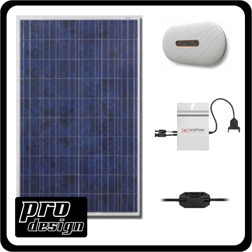 Grid Assisted System / 260 / 10 2600W Micro Inverter Gridtie Kits 0