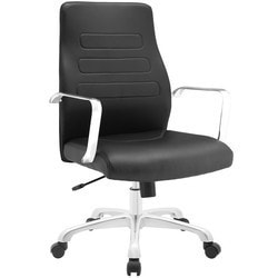 Modway - Depict Mid Back Aluminum Office Chair
