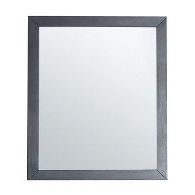 Laviva luna mirror traditional 26 grey for Mirror 34 productions