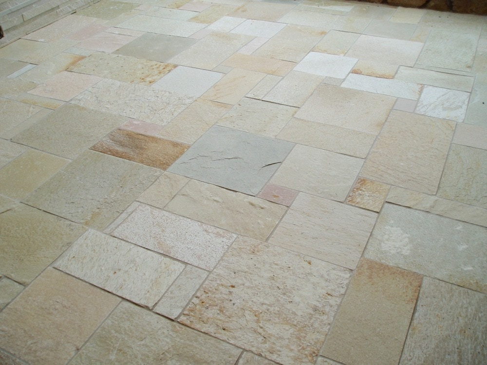 Carved Stone Creations Inc Quartzite Floor Tile Tahitian