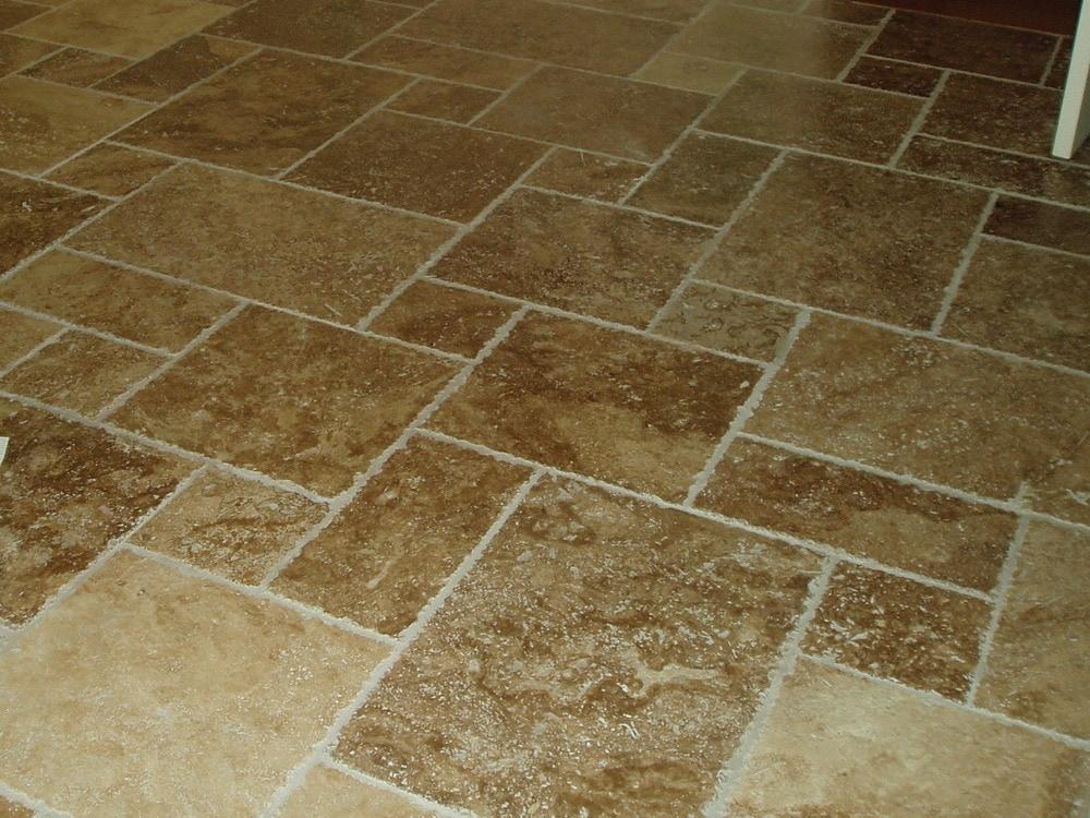 Carved Stone Creations Inc Travertine Floor Tile Tuscany Walnut