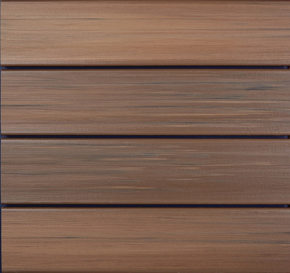 Duralife decking duralife decking tropical walnut 7 8 x 5 for What is capped composite decking