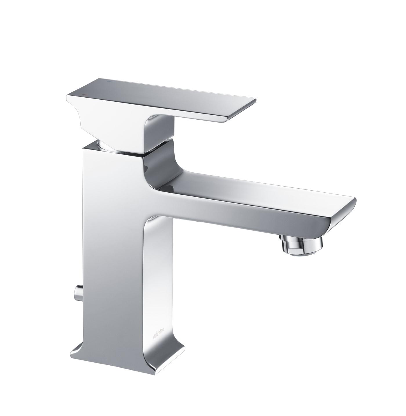 Modern / 1.2 gpm / Single Handle / Chrome / ST1001CH Stufurhome Adler Single Hole Faucet 0
