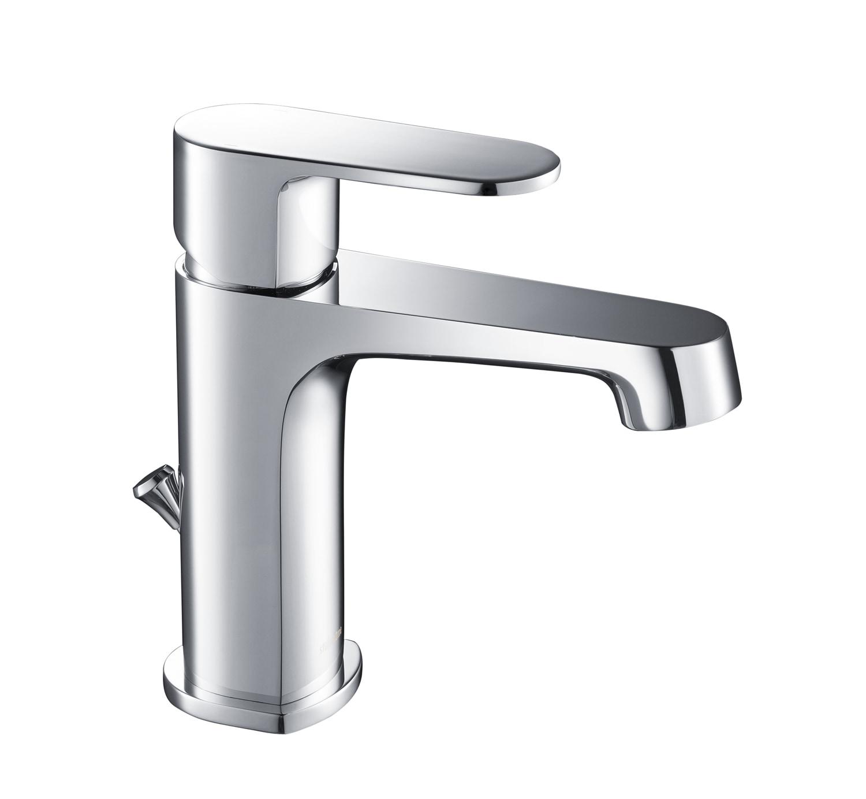 Modern / 1.2 gpm / Single Handle / Chrome / ST4001CH Stufurhome Devon Single Hole Faucet 0