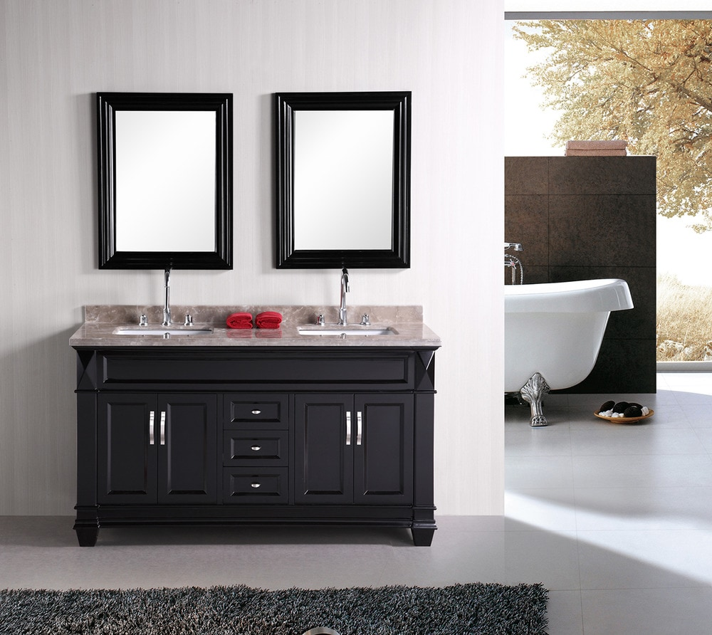 Dec059c 582f9d1aa7537  Design Element Hudson 60 Double Sink Vanity Set Crema Marfil Marble