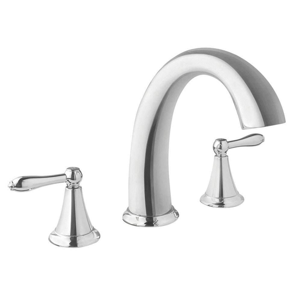 Virtu USA Alexis Polished Chrome Single Handle Faucet Widespread ...
