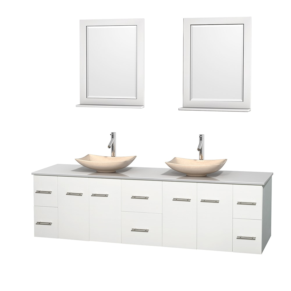 mirrors bathroom wall wyndham collection centra 80 quot bathroom vanity set 13702