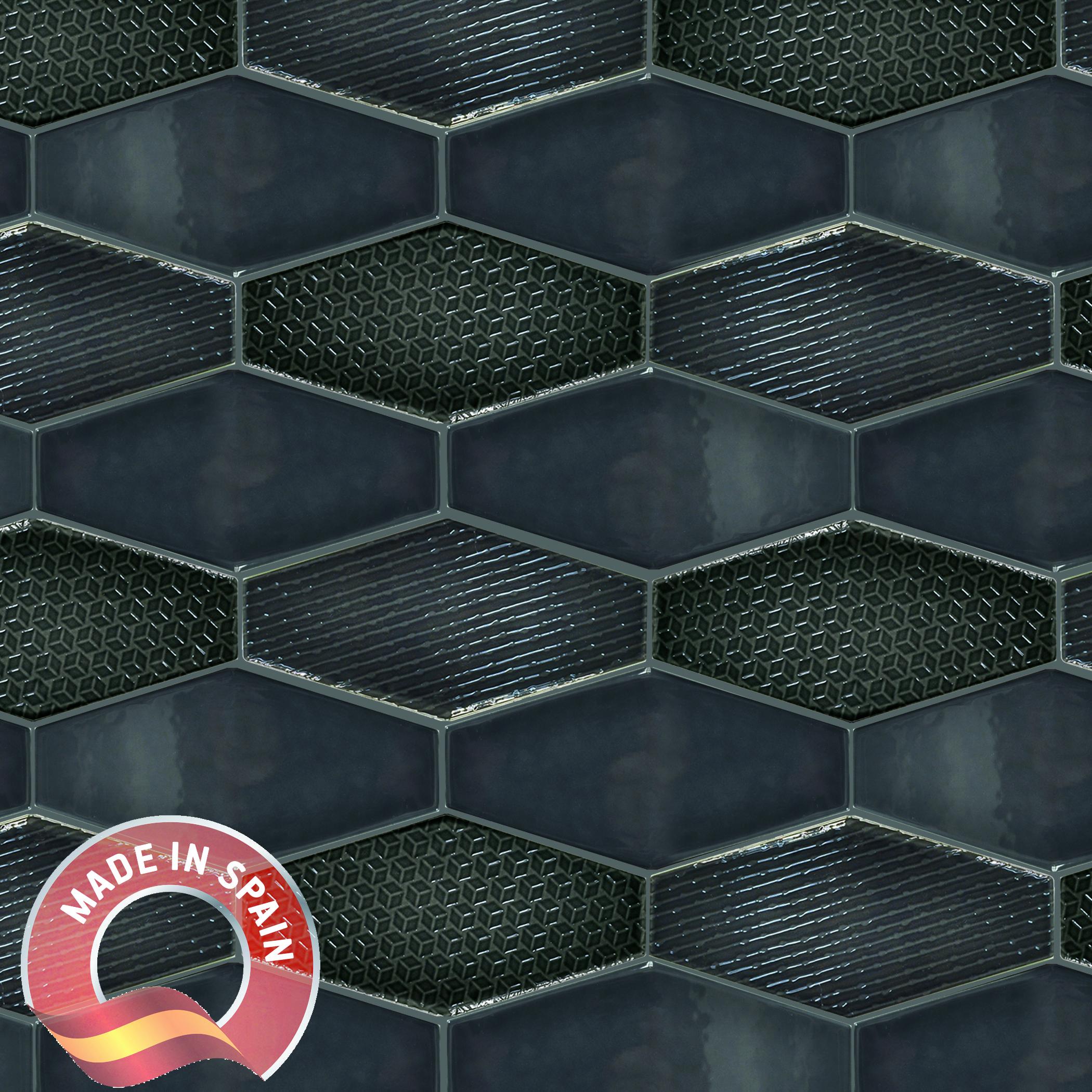 Antracite Deco / 4x8 / Glossy Divinity 0