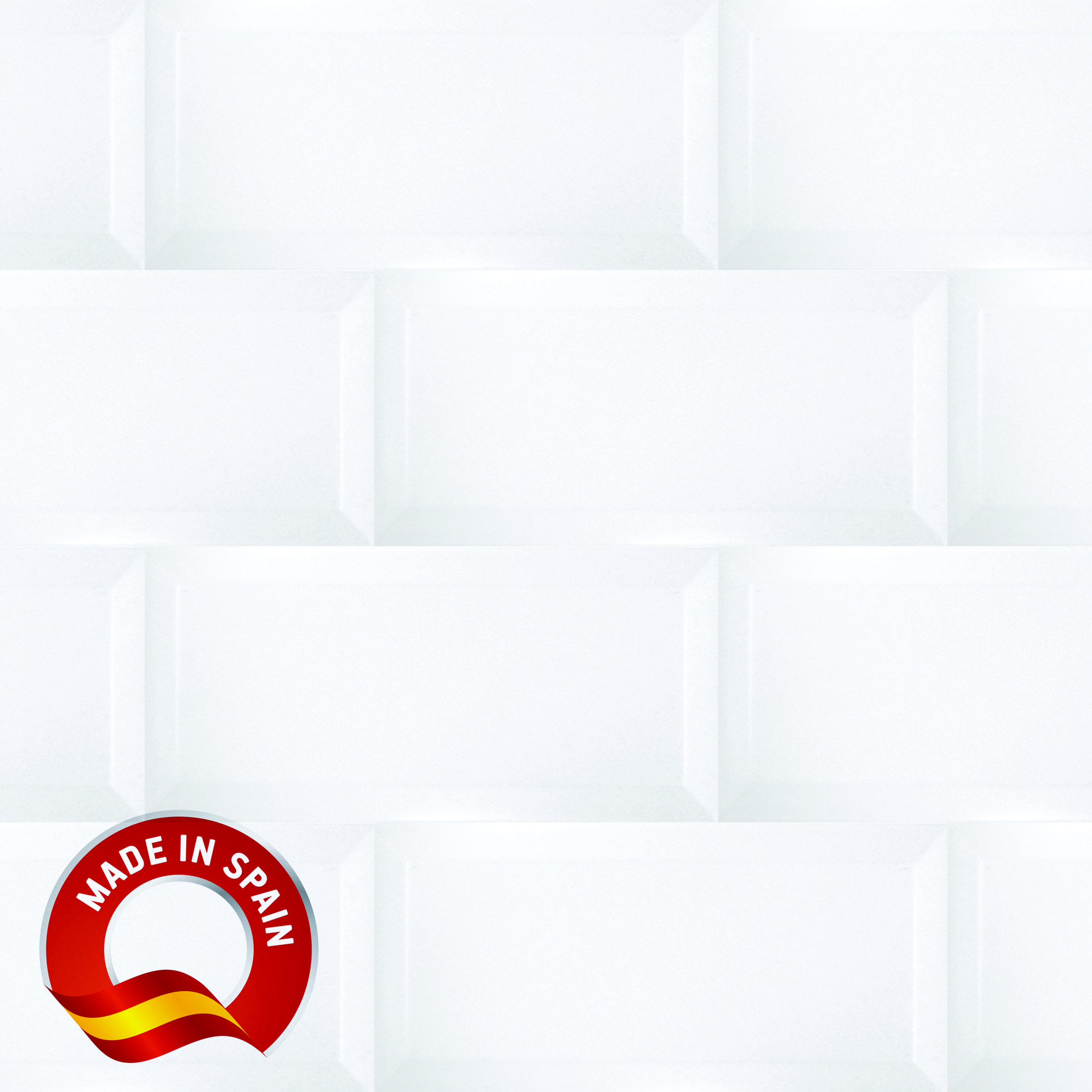 Bisel Bianco / 4x8 / Glossy Lampros 0