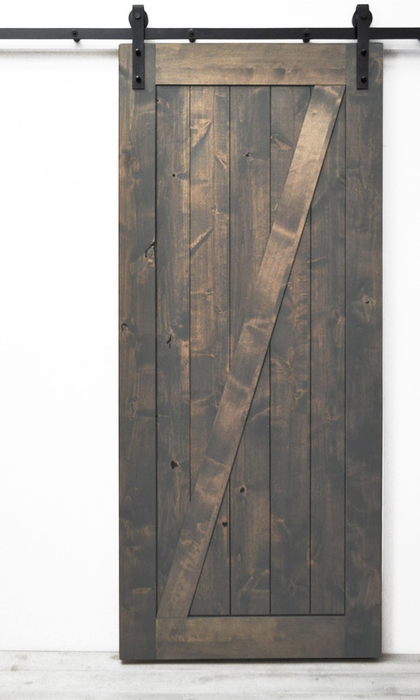 Dogberry Collections Traditional Z Barn Door Alder 36