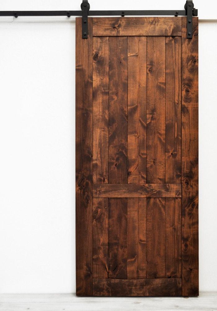 100 french pantry doors my finished sliding barn door for French door barn door
