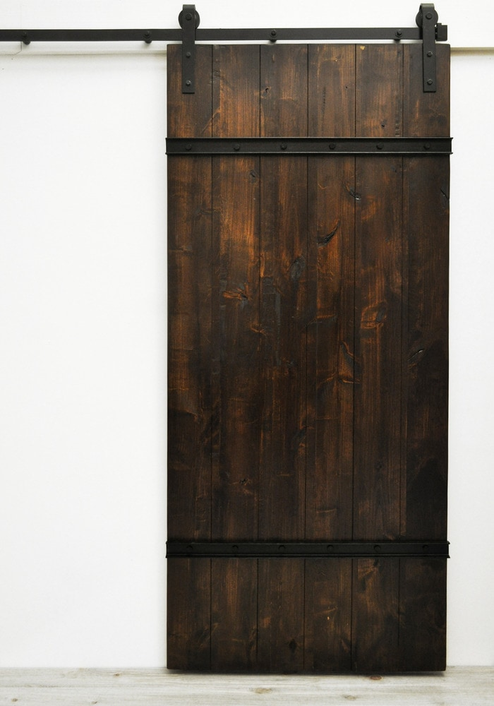 Dogberry Collections Drawbridge Sliding Double Barn Door