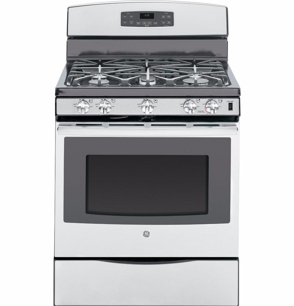 Ge Jgb690sefss 30 Stainless Steel Gas Range 5 Cu Ft Gas