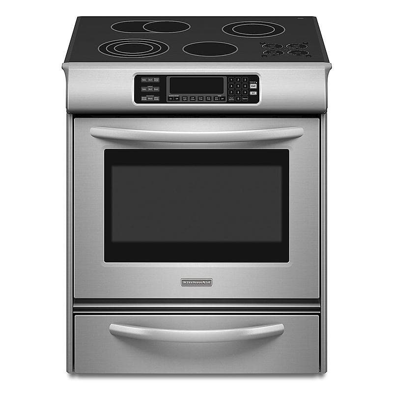 Kitchenaid Kess908sps 30 Stainless Steel Electric Range 4