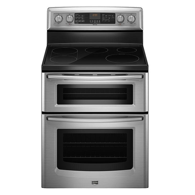 Maytag Met8775xs 30 Stainless Steel Electric Range 6 7 Cu