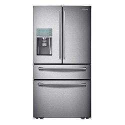 "Samsung - RF31FMESBSR 36"""" Stainless Steel Freestanding Refrigerator 29.1 Cu. Ft."