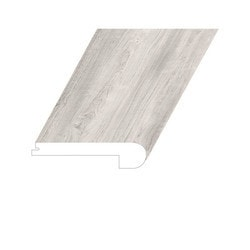 """Vinyl Moldings - Proteak Collection - Brightstone - Brightstone / Flush Stair Nose / 94-1/2"""" x 5"""" x 1"""""""