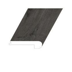 "Vinyl Moldings - XL Noble Oak Collection - Mt. Kunlun - Mt. Kunlun / Flush Stair Nose / 94-1/2"" x 5"" x 1"""