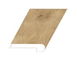 """Vinyl Moldings - XL Noble Oak Collection - Mt. Topaz - Mt. Topaz / Flush Stair Nose / 94-1/2"""" x 5"""" x 1"""""""