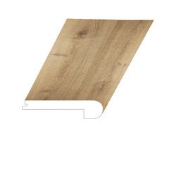 """Vinyl Moldings - Prague Collection - Old Town - Old Town / Flush Stair Nose / 94-1/2"""" x 5"""" x 1"""""""