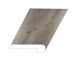 """Vinyl Moldings - Prague Collection - Imperial - Imperial / Flush Stair Nose / 94-1/2"""" x 5"""" x 1"""""""