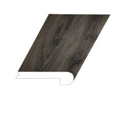 """Vinyl Moldings - Old Town Collection - Lao Shan - Lao Shan / Flush Stair Nose / 94-1/2""""x 4-1/2""""x 1-4/5"""""""