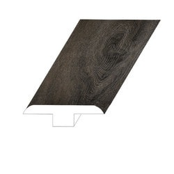 """Vinyl Moldings - Old Town Collection - Lao Shan - Lao Shan / T-Molding / 94-1/2""""x 1-4/5""""x 2/5"""""""