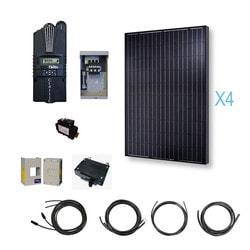 Renogy - 1000 Watt 12 Volt Monocrystalline Solar Cabin Kit