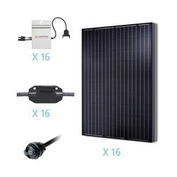 Renogy - 4KW Grid-Tied Monocrystalline Solar Kit