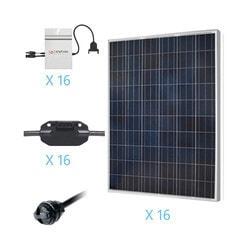 Renogy - 4KW Grid-Tied Polycrystalline Solar Kit