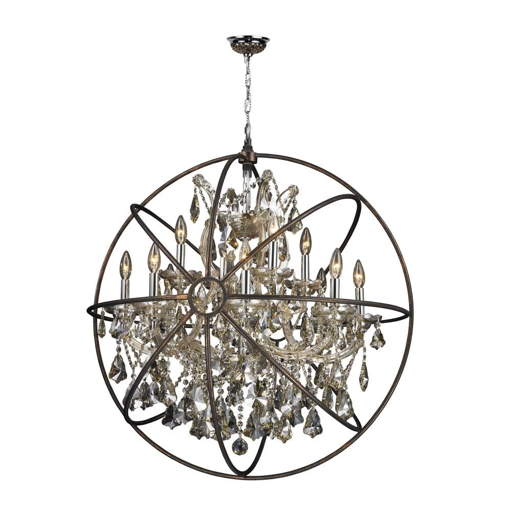 Worldwide lighting corporation chandelier armillary collection w83191c33gtwhite5823e0713af5e arubaitofo Image collections