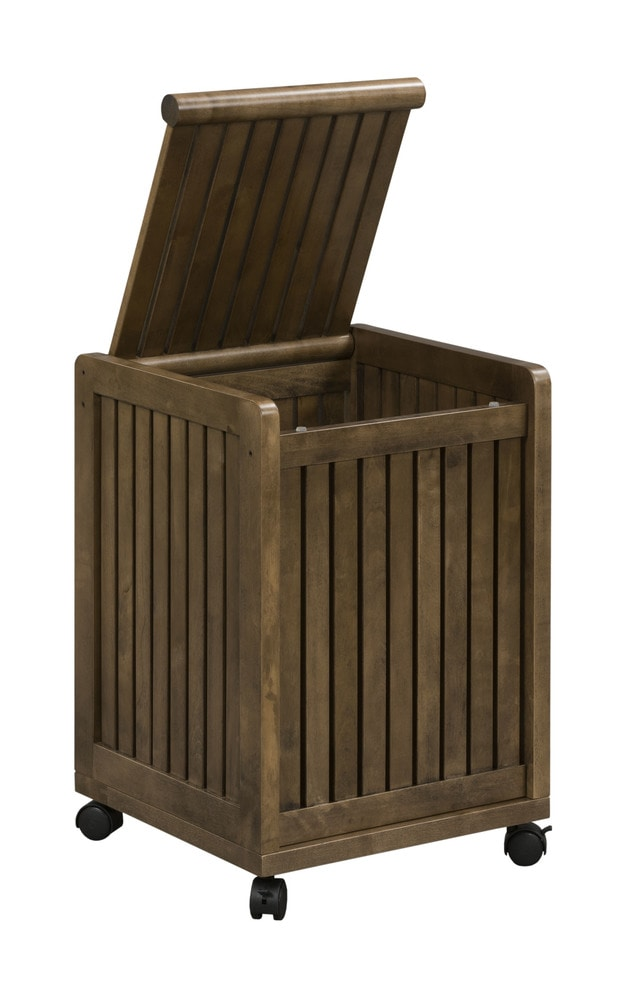 New ridge home goods abingdon mobile hamper with lid for Home goods mobile