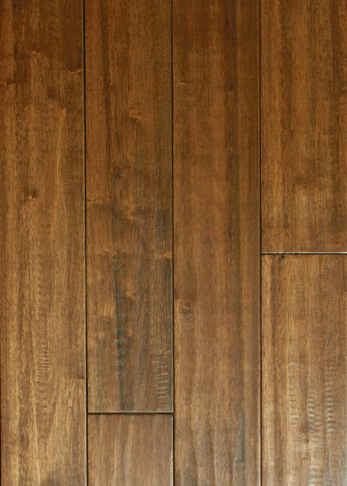 Handwerx Hand Scraped Plank Solid Hardwood Flooring Handscraped