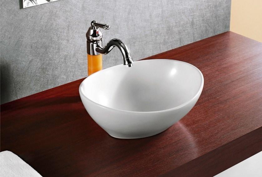 Elanti Elanti Collection Ec9838 Porcelain White Vessel