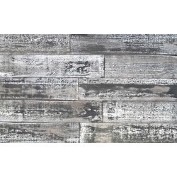 Smart Wall Paneling 3D Country Wood Whitewash DIY Smart Wall Planks (10 SF  / Case