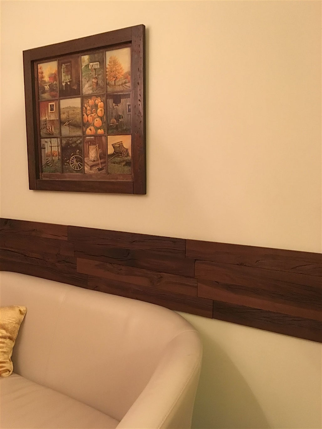 """Holey Wood 3D Holey Wood """"50"""" Style Wall Planks in Brown Color (10 ..."""