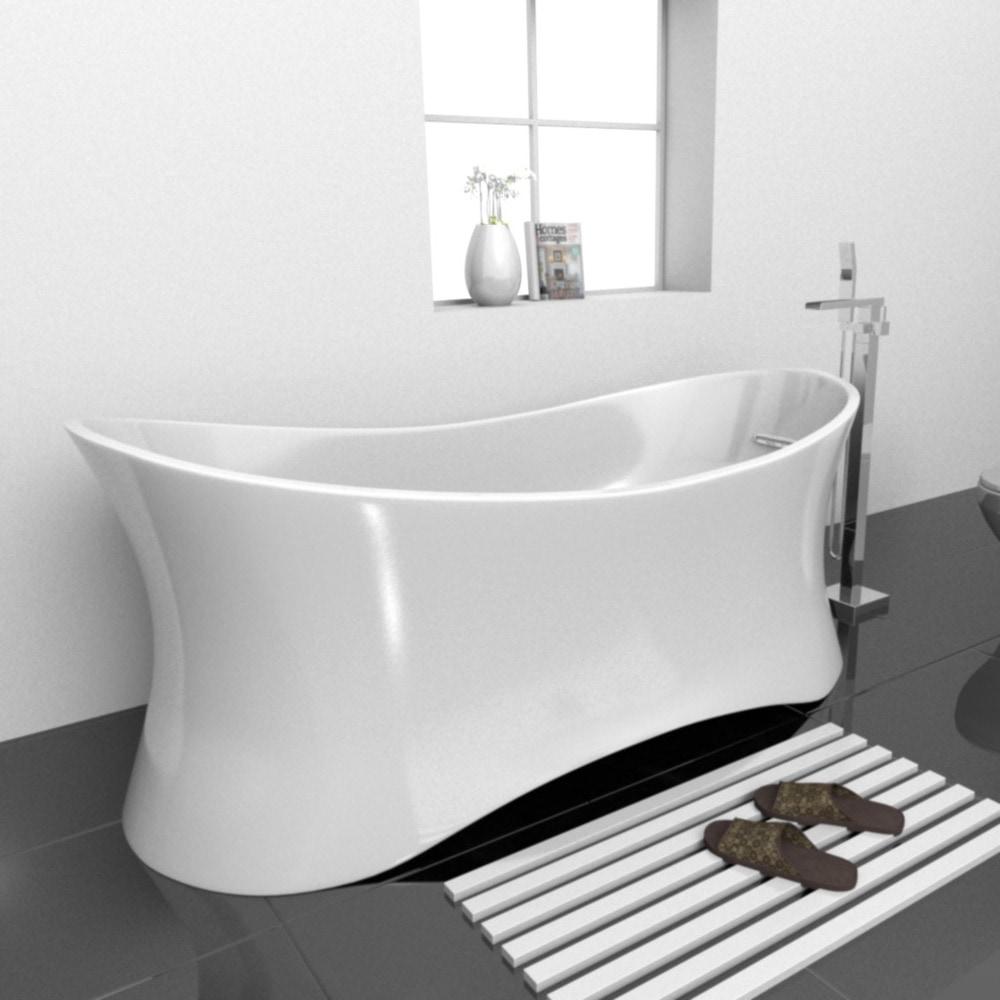 Eurolux PALLA Freestanding Bathtub Freestanding Bathtub / 68 x 32 x ...