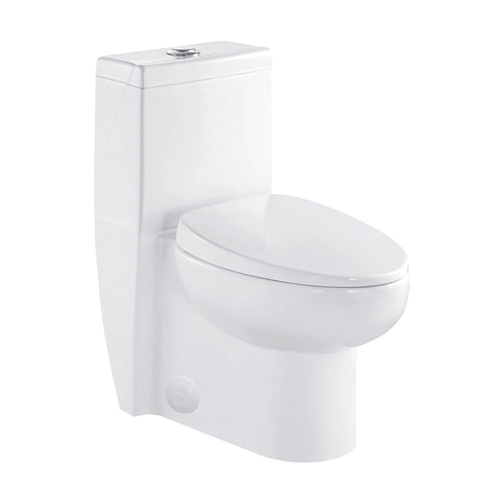 """White / 1.6 / 29.1 x 15.4 x 26.8"""" / WAHL WAHL elongated toilet 0"""