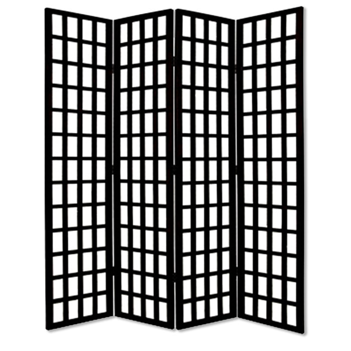 Screen Gems Dakota Screen Sg 50a Black Room Dividers Floor Screens