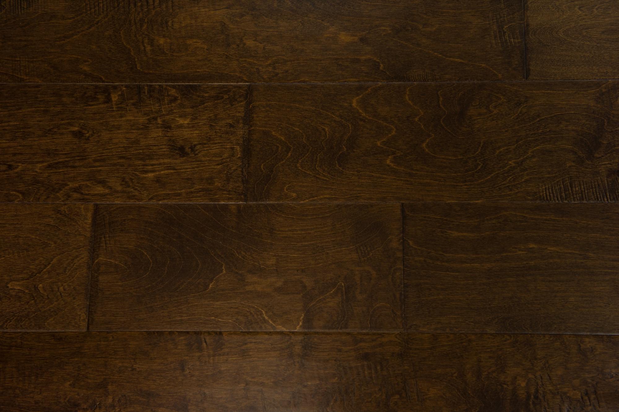 Dark Chocolate / Baltic Birch / Urethane / ABC / Sample Engineered Hardwood - Baltic Birch - Belmont Collection 0