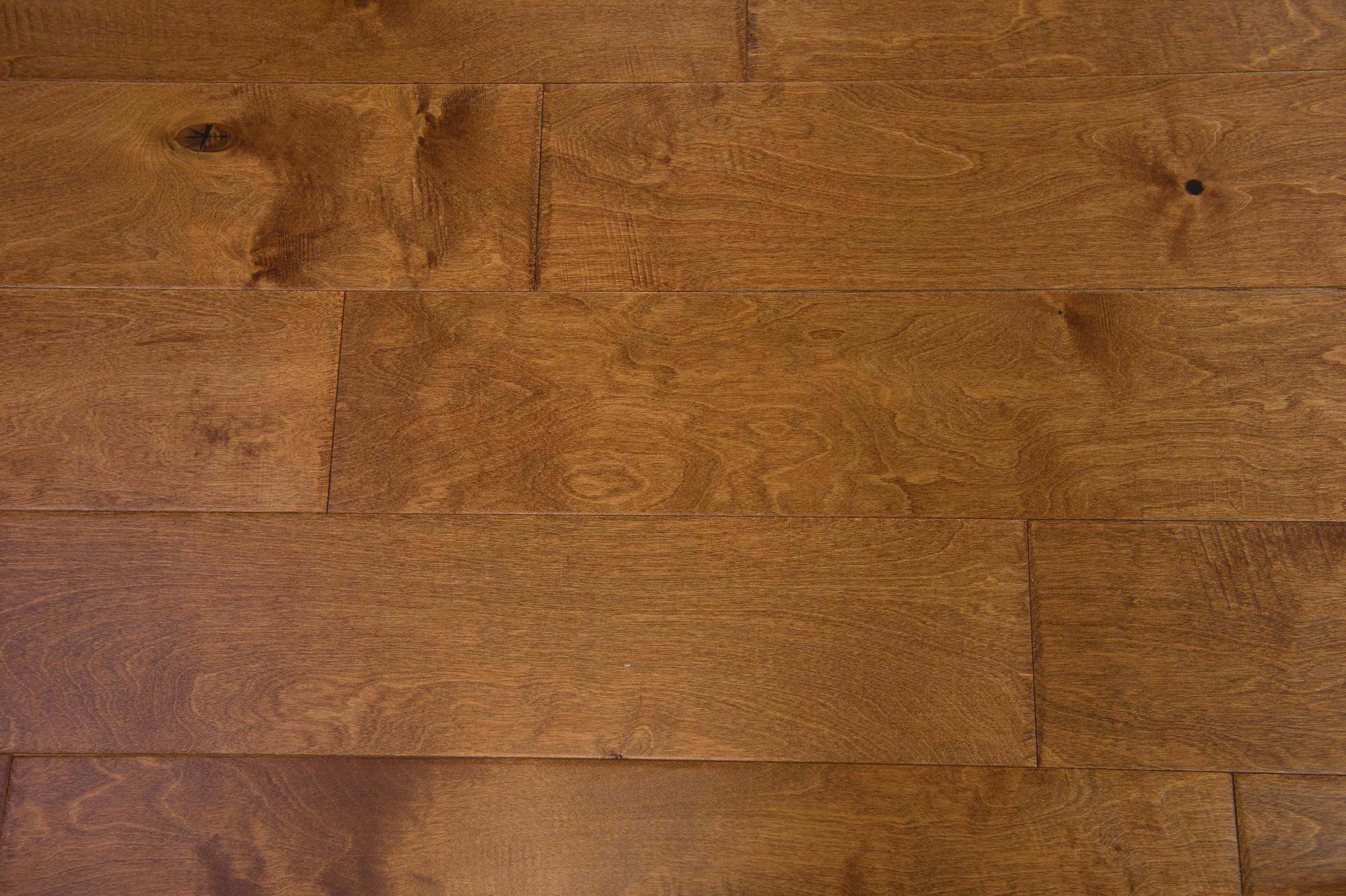 "Cardamom / Baltic Birch / Urethane / ABC / 3/8"" x 6-1/2"" Engineered Hardwood - Baltic Birch - Belmont Collection 0"