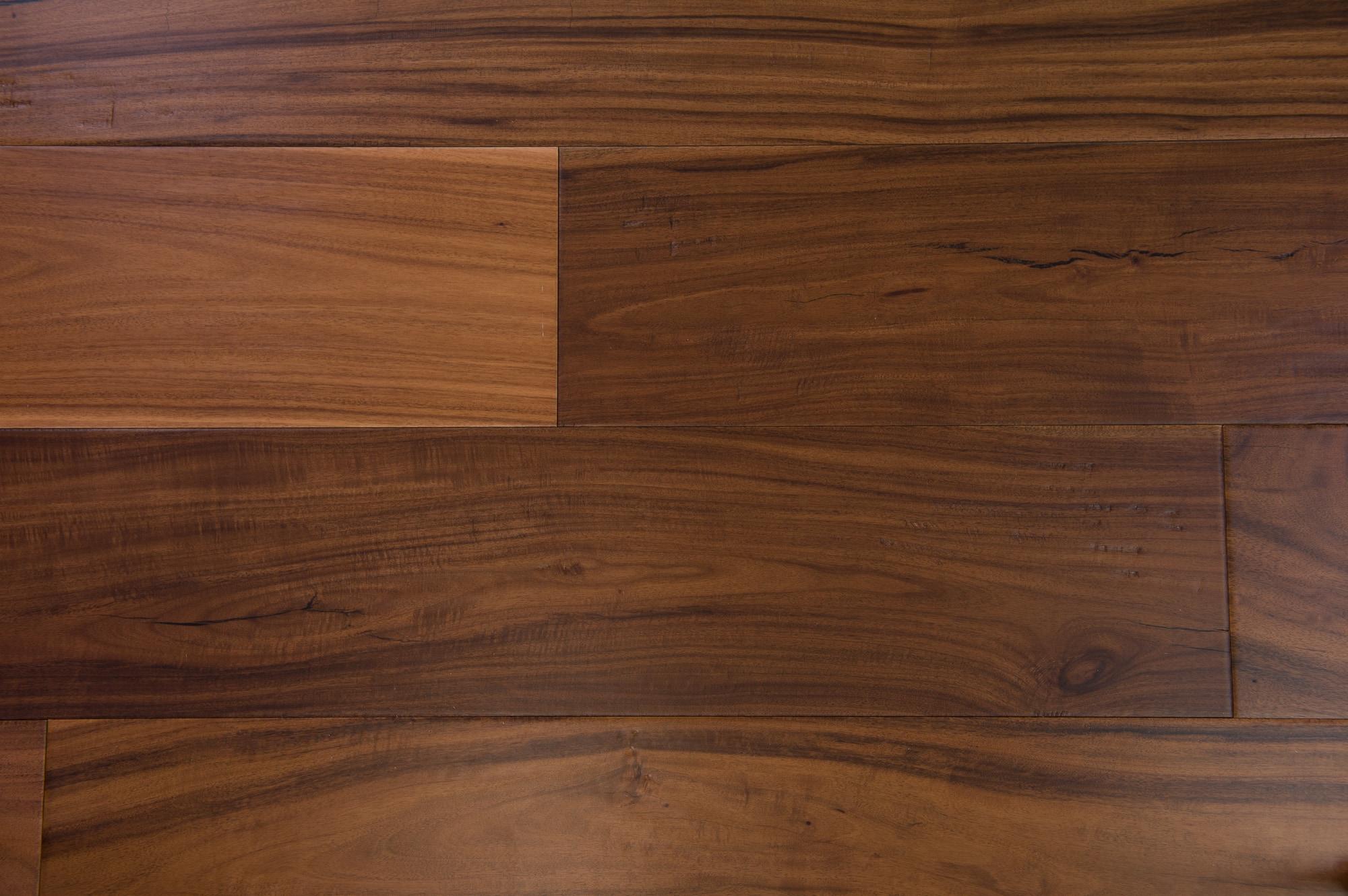 "Brown / Acacia / Urethane / ABC / 7-1/2"" Engineered Hardwood - Acacia - Niagara Collection 0"