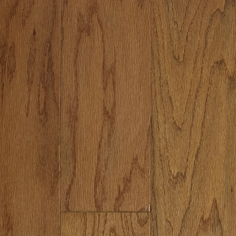 "Caramel / Oak / Urethane with AO / Standard / 3/8"" X 5"" Engineered Hardwood - 5"" Oak - Berkshire Collection 0"