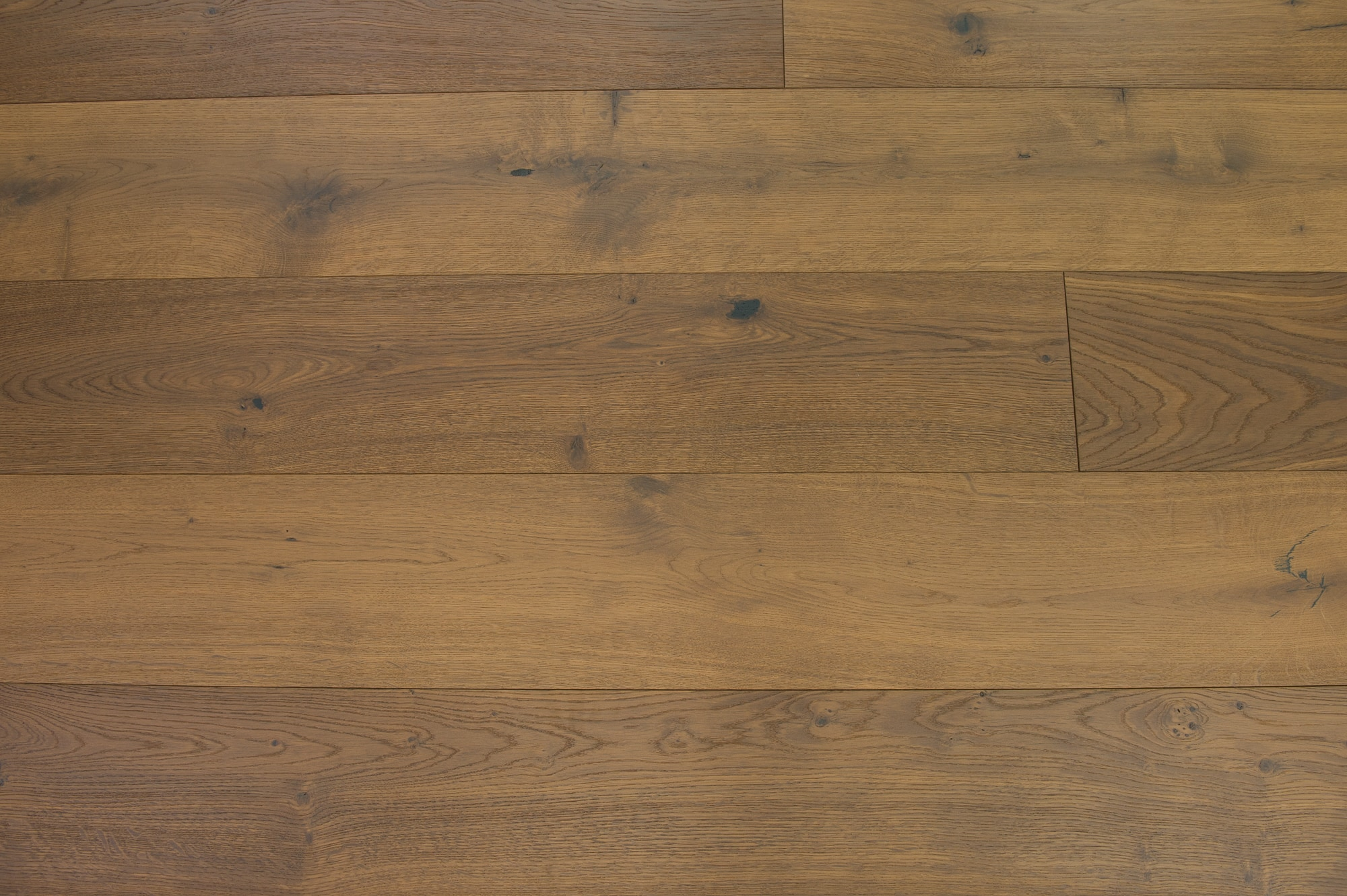 Almond / European White Oak / UV Oil Finish / ABCD / Sample Engineered Hardwood - European White Oak - Denali Collection 0