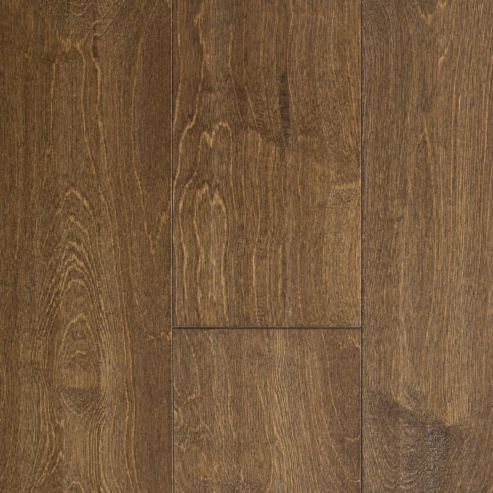 "Brown / Birch / Sealer = UV Urethene Aluminum Oxide; Topcoat = UV Urethene / #1 / 3/8"" x 5"" Catskill Engineered Hardwood 0"