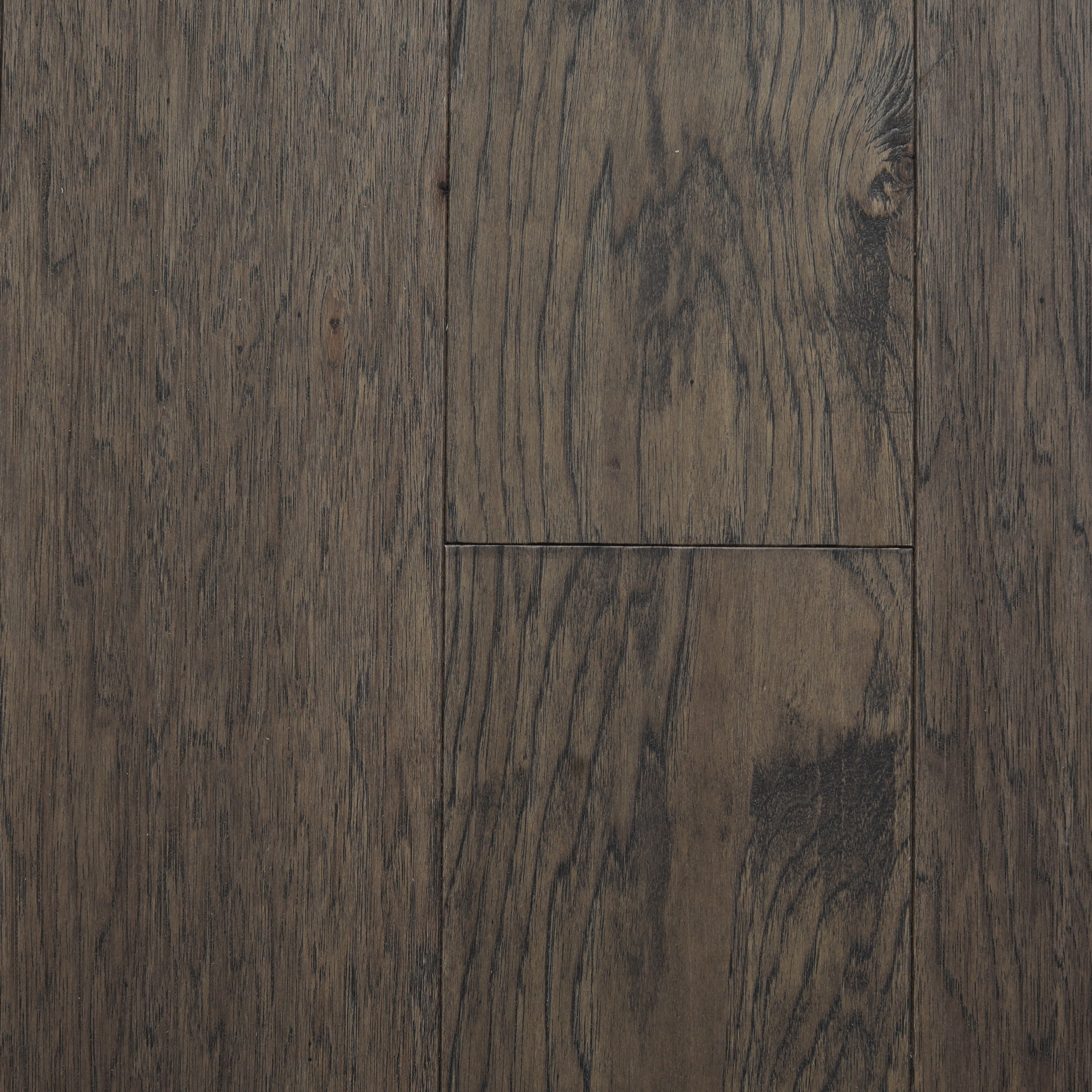 Coal / Hickory / Sealer = UV Urethene Aluminum Oxide; Topcoat = UV Urethene / #1 / Sample Taconic Engineered Hardwood 0