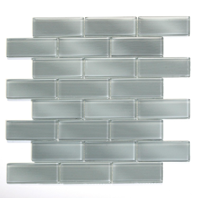 Carrollton Mardi Gras Glass Mosaic Wall Tile 0