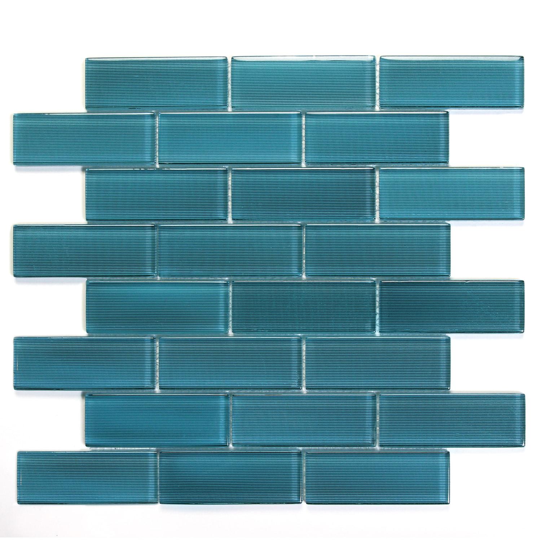 Erato Mardi Gras Glass Mosaic Wall Tile 0